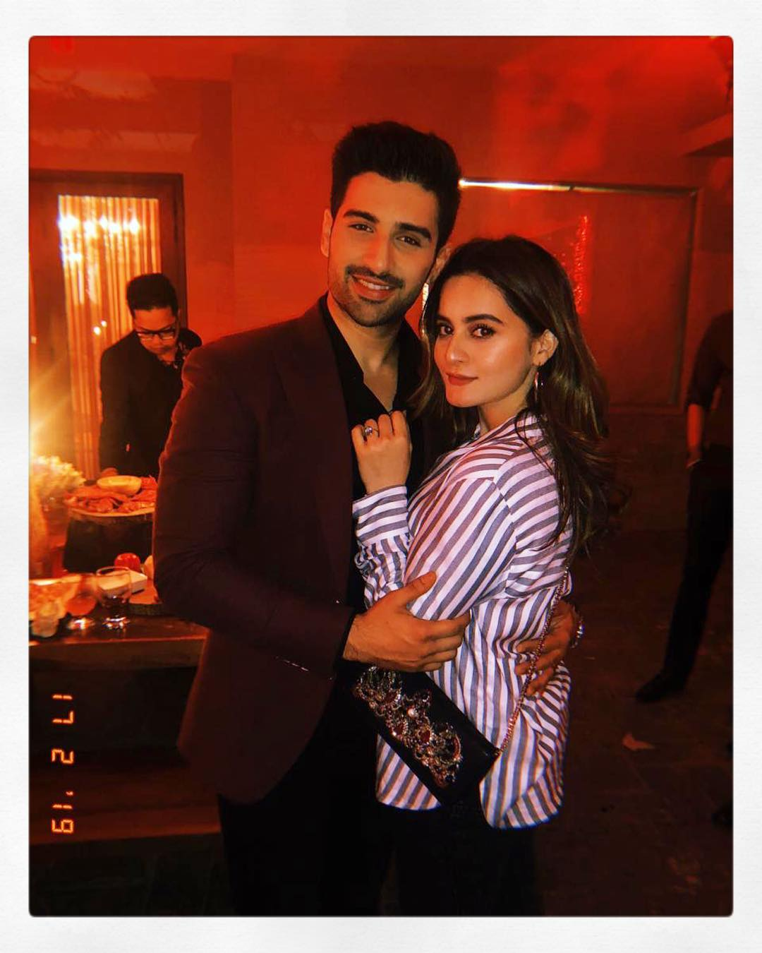 Awesome Photos of Aiman Minal and Muneeb at a Musical Night