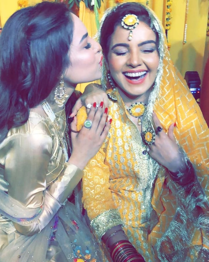 Awesome Photos of Actress Isha Noor Mehndi and Nikah