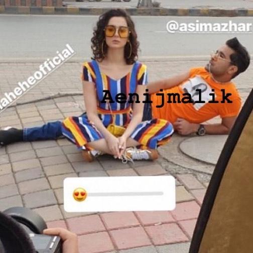 New Photoshoot of Asim Azhar and Hania Amir