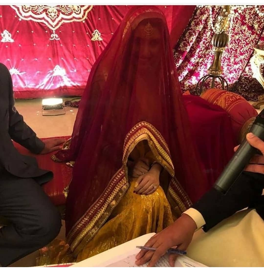 Awesome Iman Aly at her Nikah and Mehndi Happening Right Now