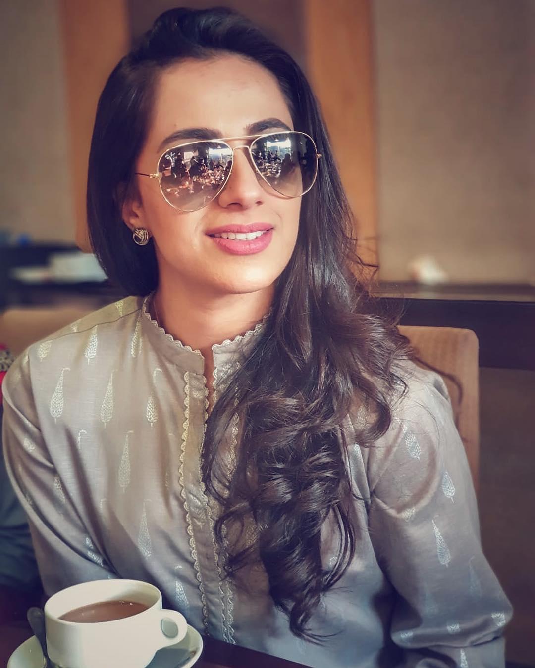 New Photos of Actress Maham Amir wih her Husband Faizan Sheikh