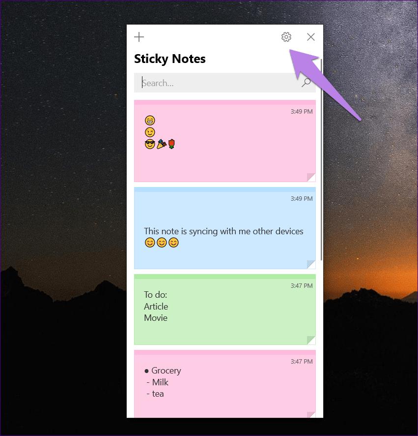 Share Sticky Notes 3