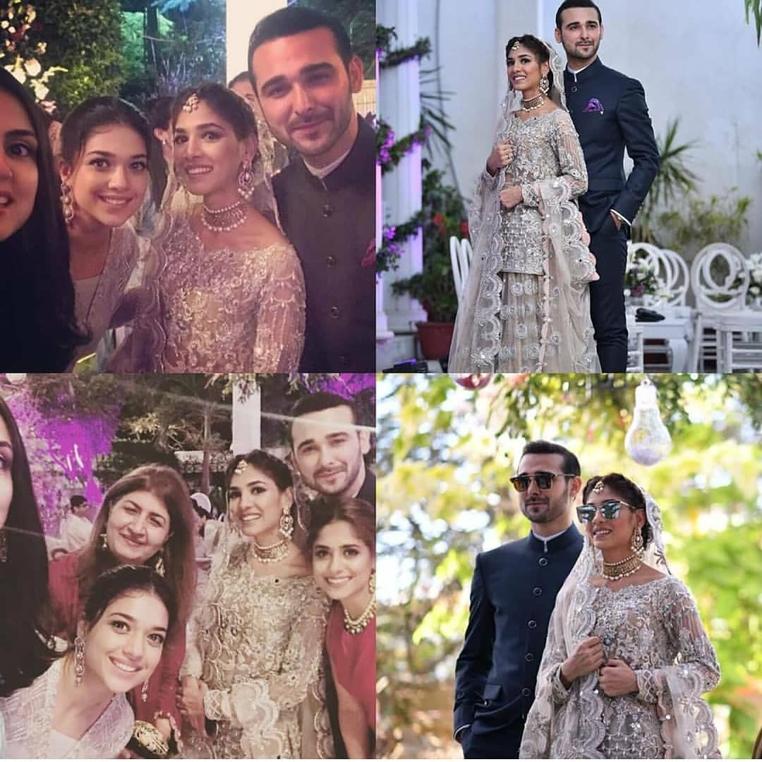 Sanam Jung at the Engagement of her Younger Sister Amna Jung