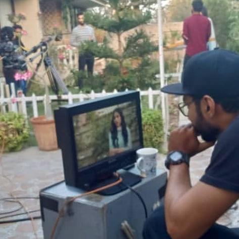 Awesome Photos of Mashal Khan and Nabeel Zuberi on the Set of Suno Chanda 2