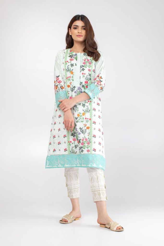 Stylish New Khaadi Lawn prêt Collection For Yr 2019 for Girls