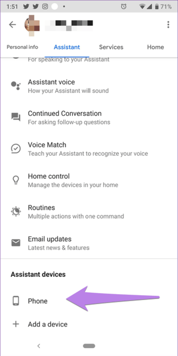 Google Assistant Settings 18