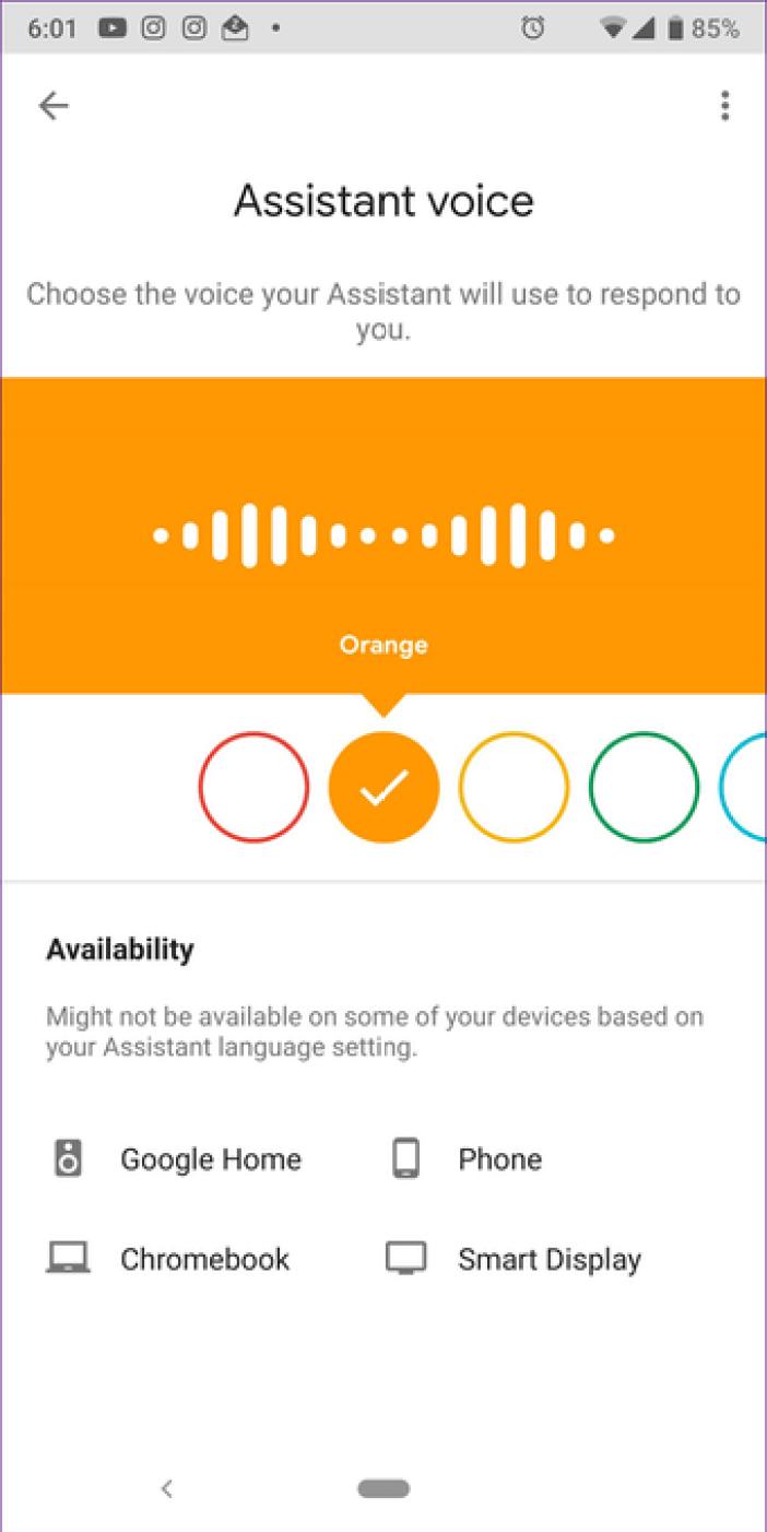 Google Assistant Settings 21