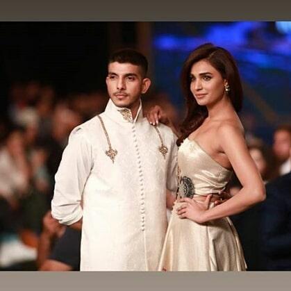Amna Illyas and Mohsin Abbas Haider Walk on Ramp at PSFW