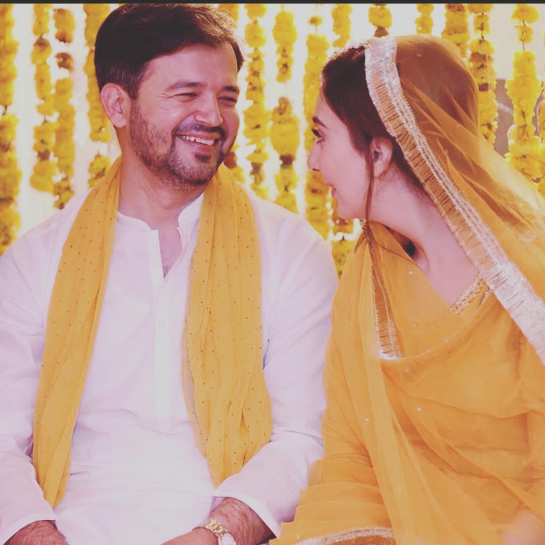 Aisha Khan Celebrating her 1st Wedding Anniversary with her Husband Major Uqbah Malik