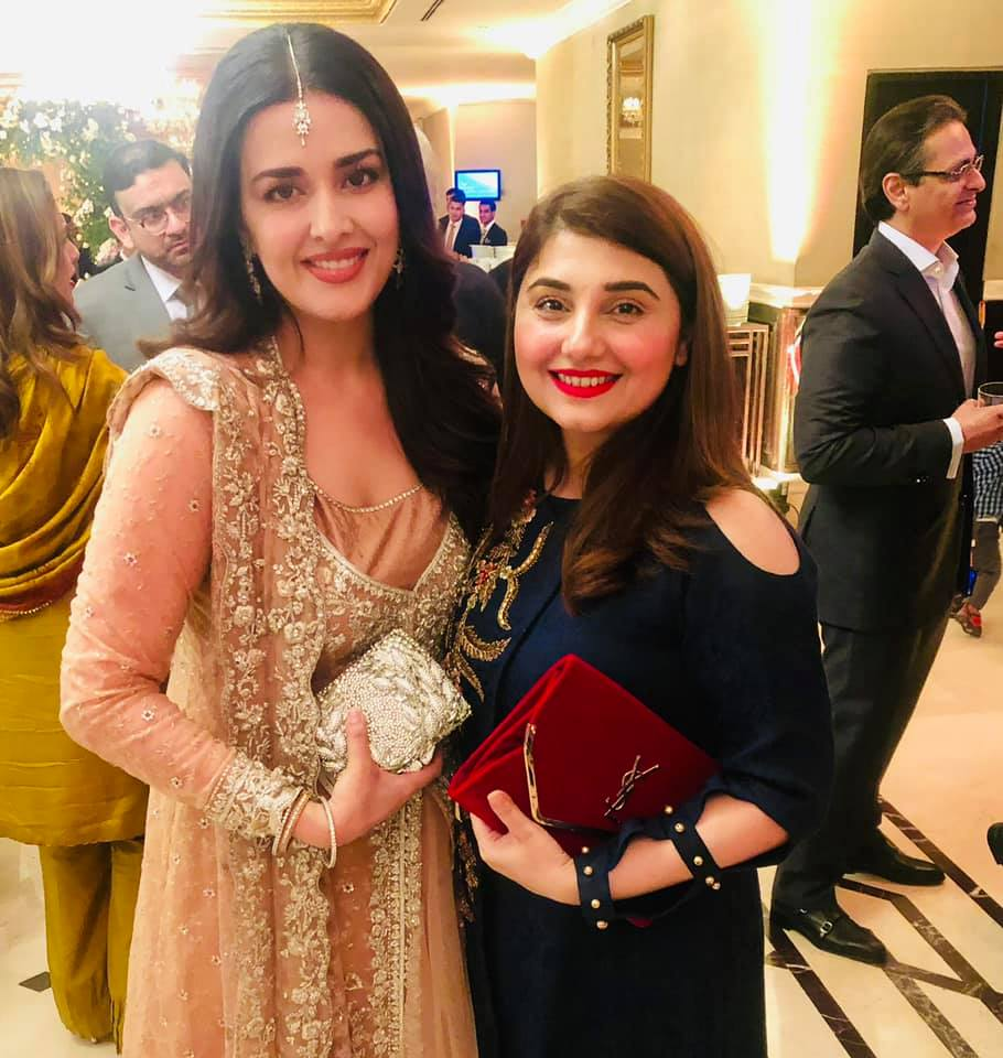 Awesome Javeria Saud at a Wedding Event