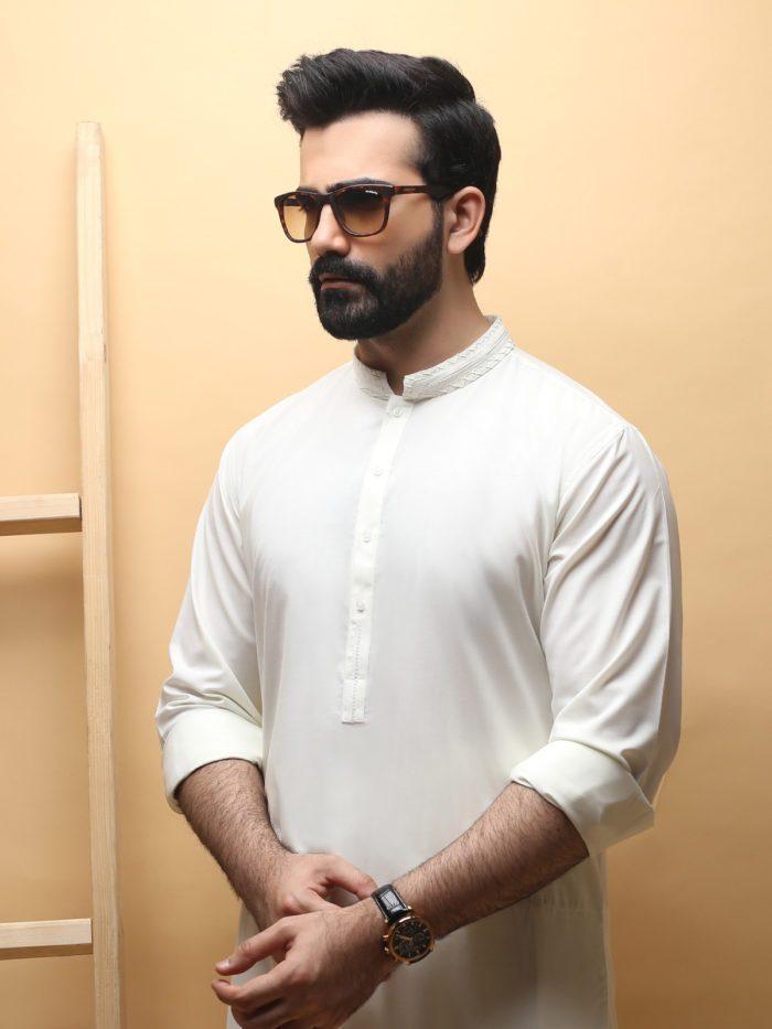 Stylish Edenrobe Men's Wear Eid Kurta Collection Styles For Yr 2019
