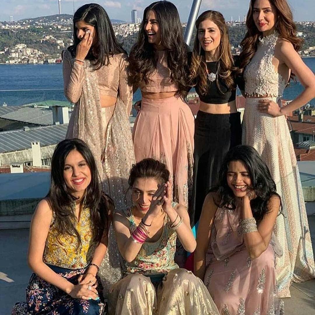 Mahira Khan at her Friend Wedding in Turkey