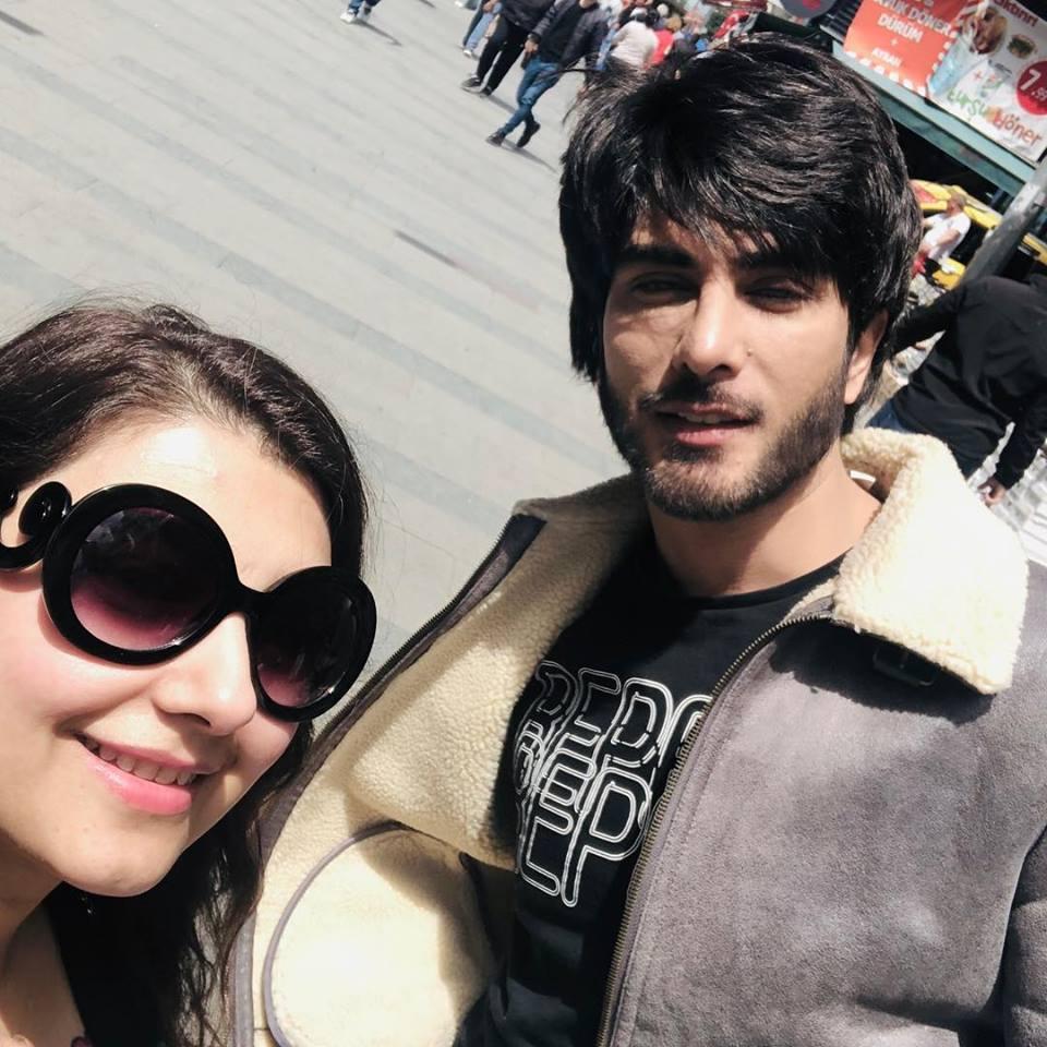 Javeria Saud and Imran Abbas in Turkey for Recording of Ramzan Transmission