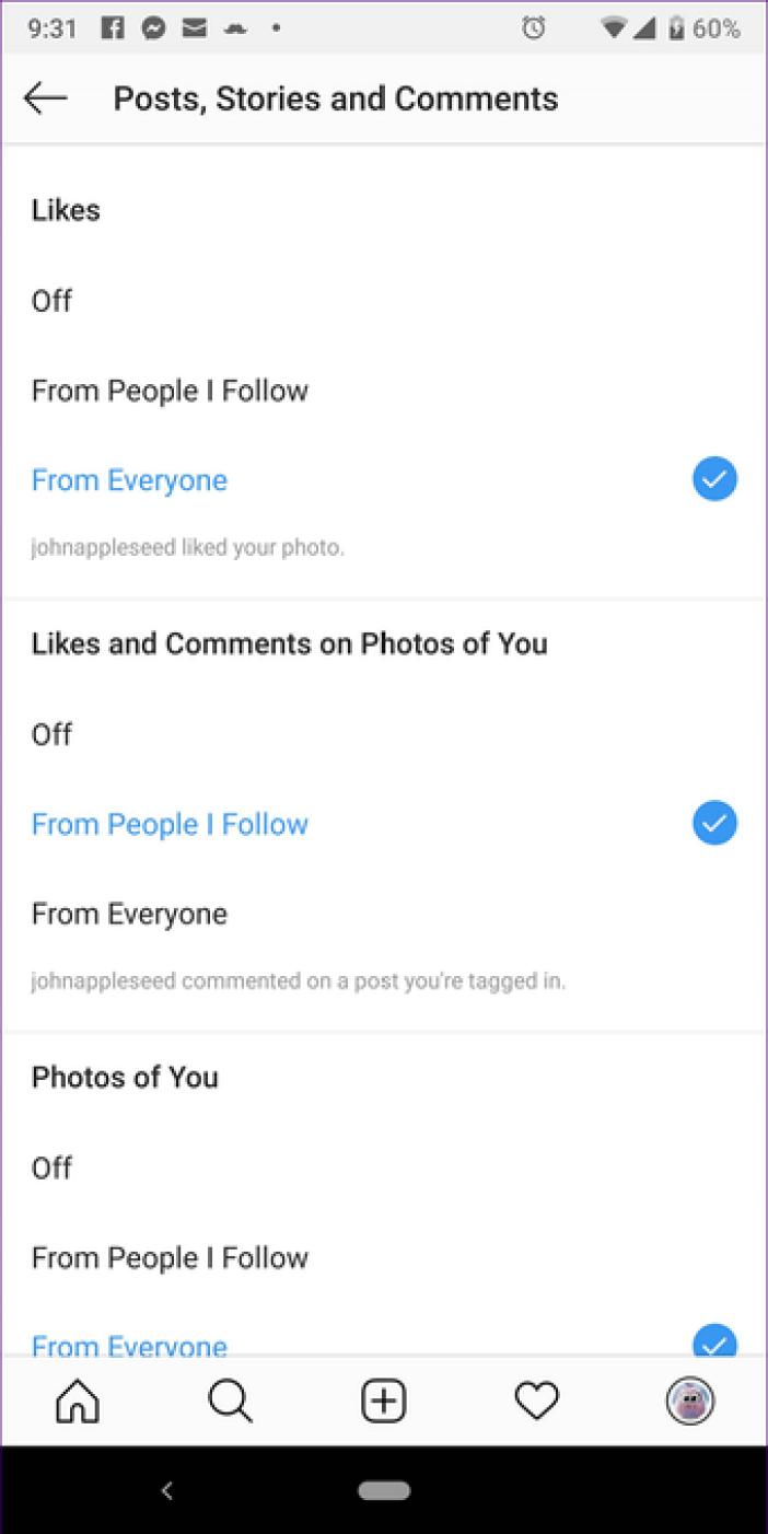 Instagram Notifications Not Working 7