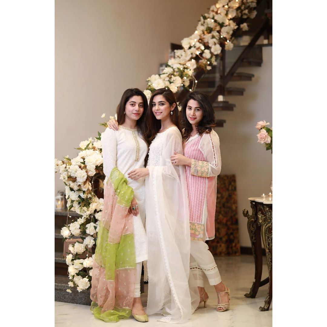 Maya Ali Hosted Iftar Party for her Family and Friends
