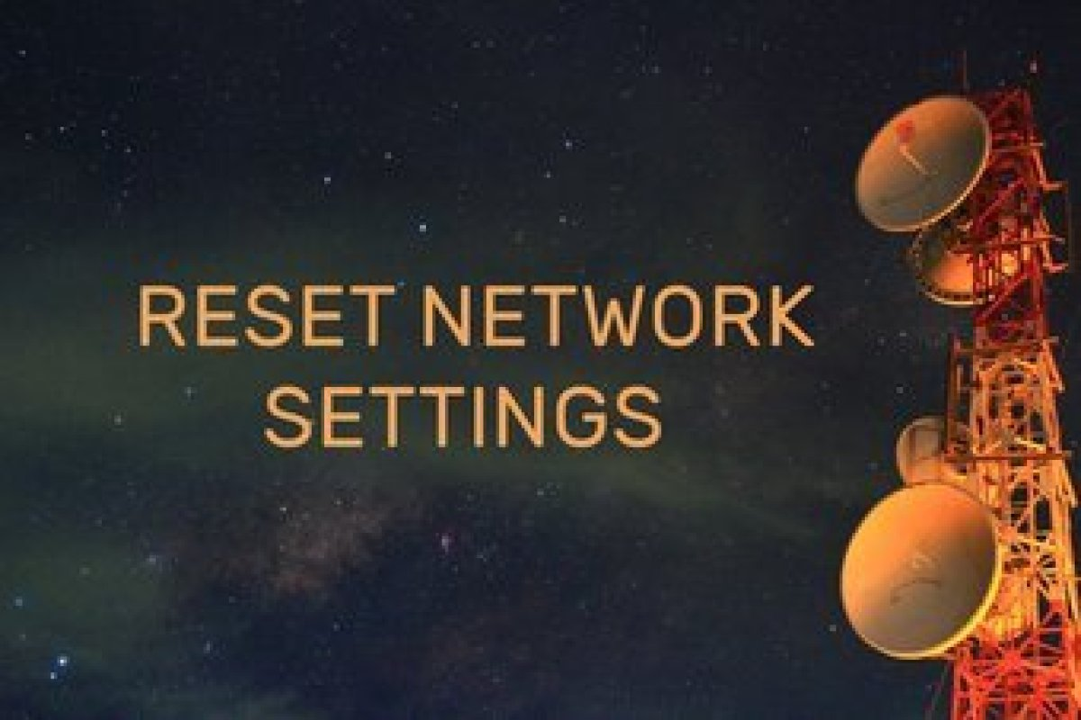 Reset Network Settings Android Ipad Iphone Fi