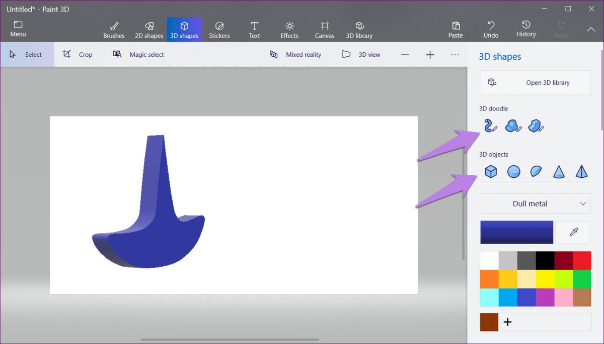 Logo In Paint 3D 3