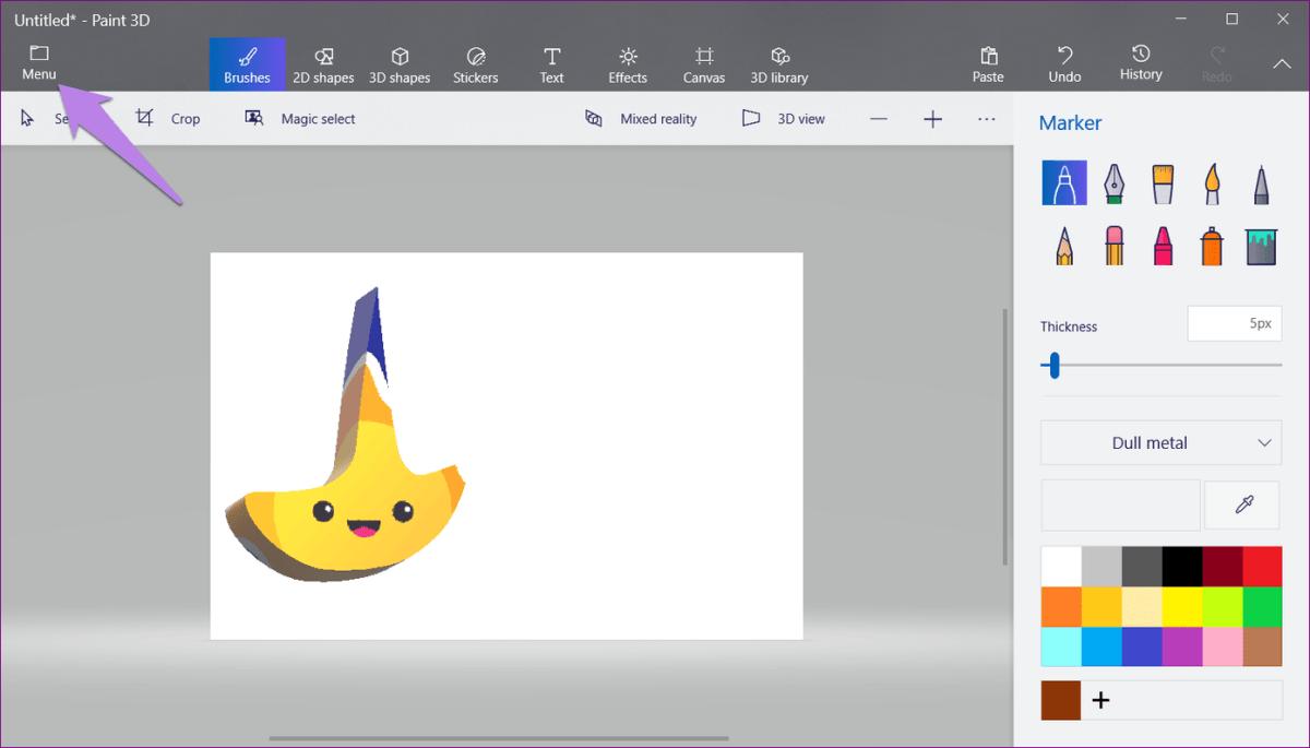Logo In Paint 3D 10