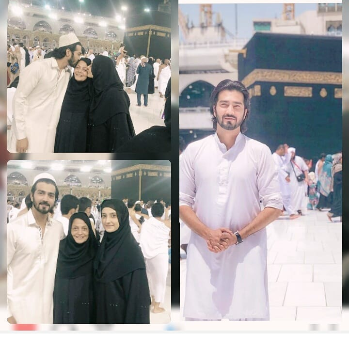Shahzad Sheikh and Momal Sheikh Performed Umrah with Parents