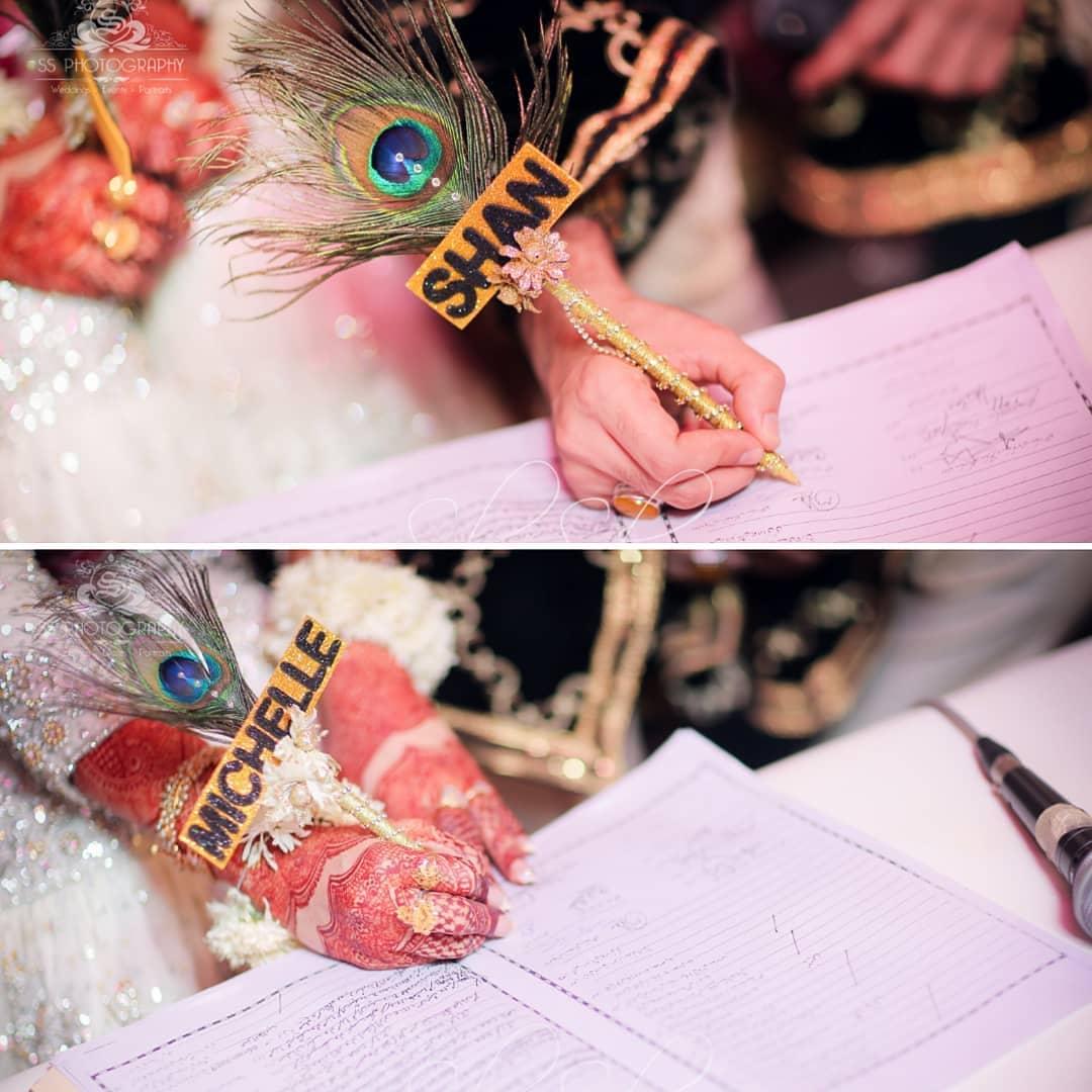 Awesome Wedding Photos of Actor Shan Baig