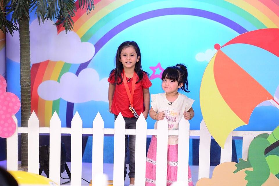 Cute Kid Ahmed Shah in Nida Yasir Morning Show
