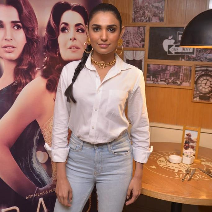 Cast of Movie Baaji Appeared at Media Meetup Event for Promotions