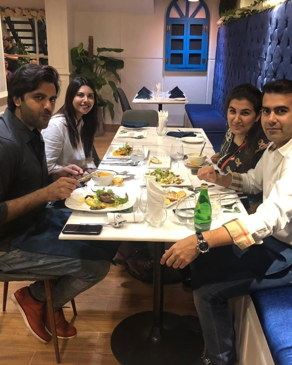 Pakistani Celebrities at the Launch of Nobby Cafe in Karachi