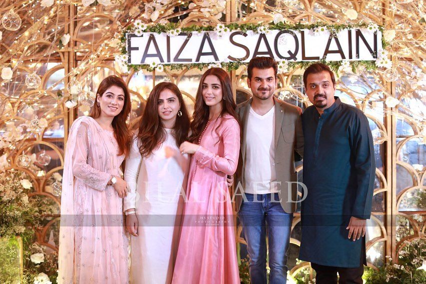 Awesome Maya Ali with her Brother at an Event
