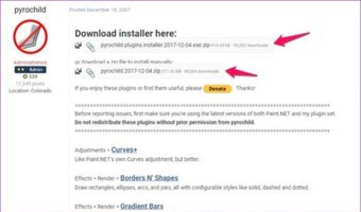 Essential Paint Net Plugins Reupload 1