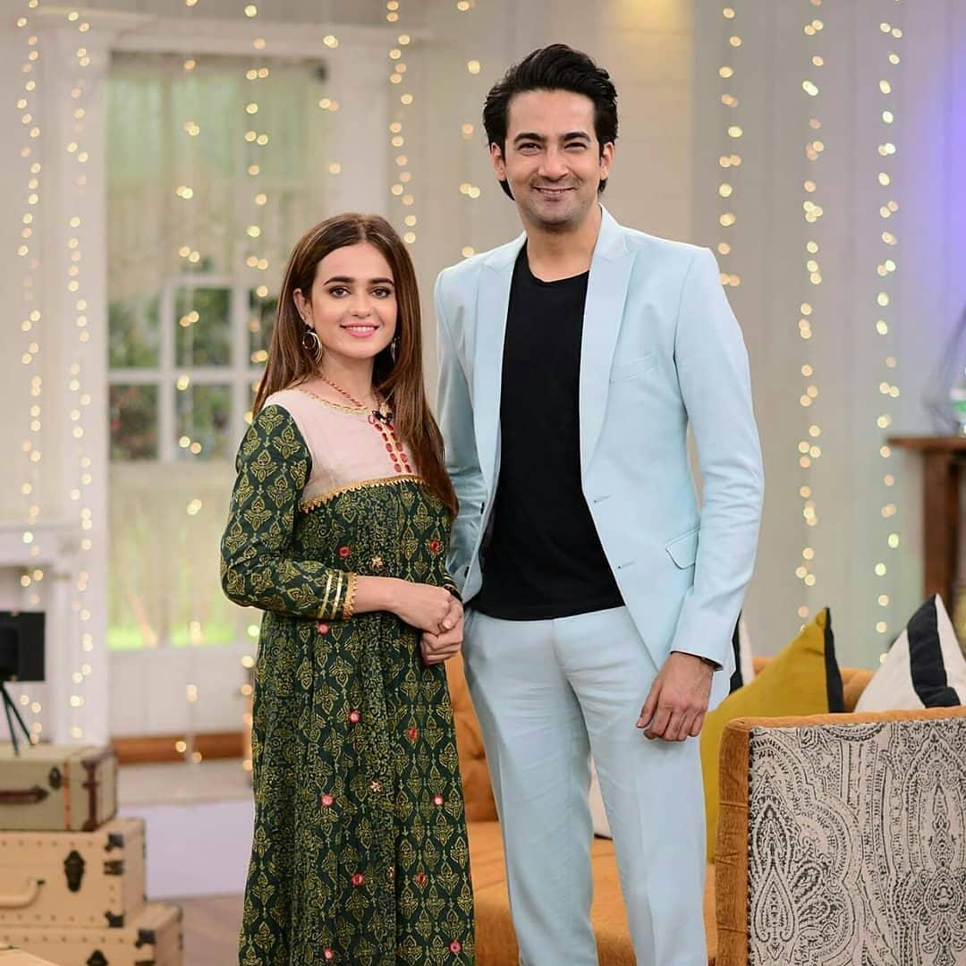 Barfi Laddu Cast Sumbul Iqbal & Ali Safina in Good Morning Pakistan