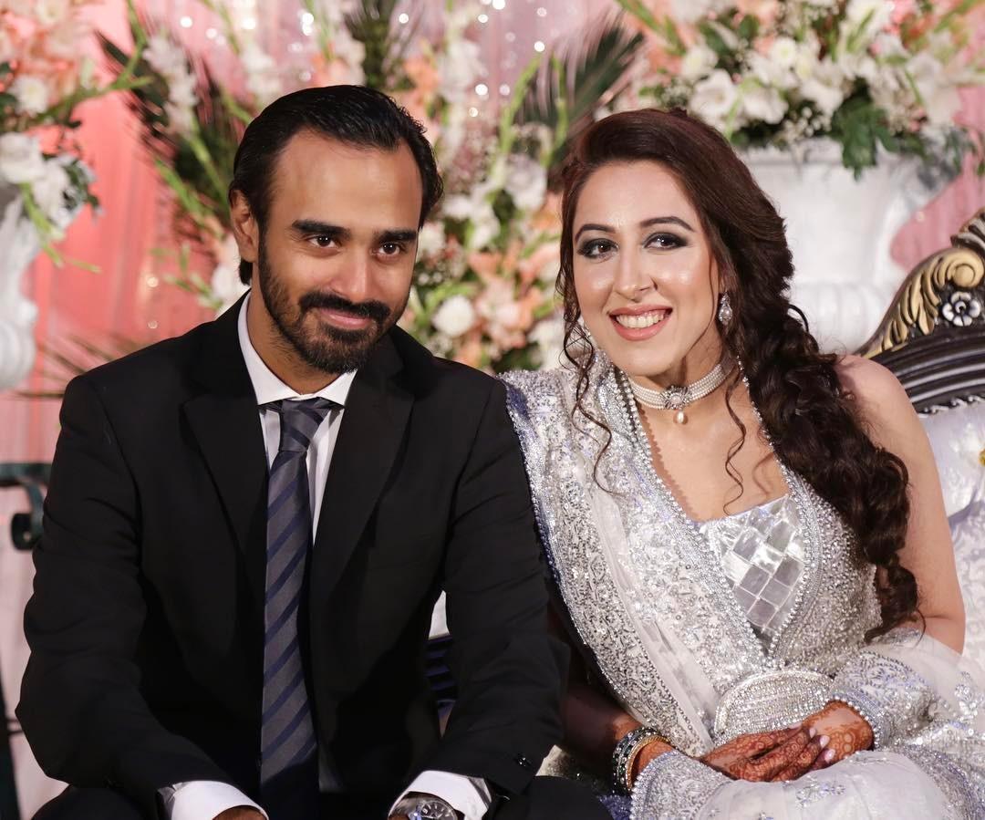 Usman Pirzada and Samina Pirzada Niece Yamina Pirzada Wedding Clicks
