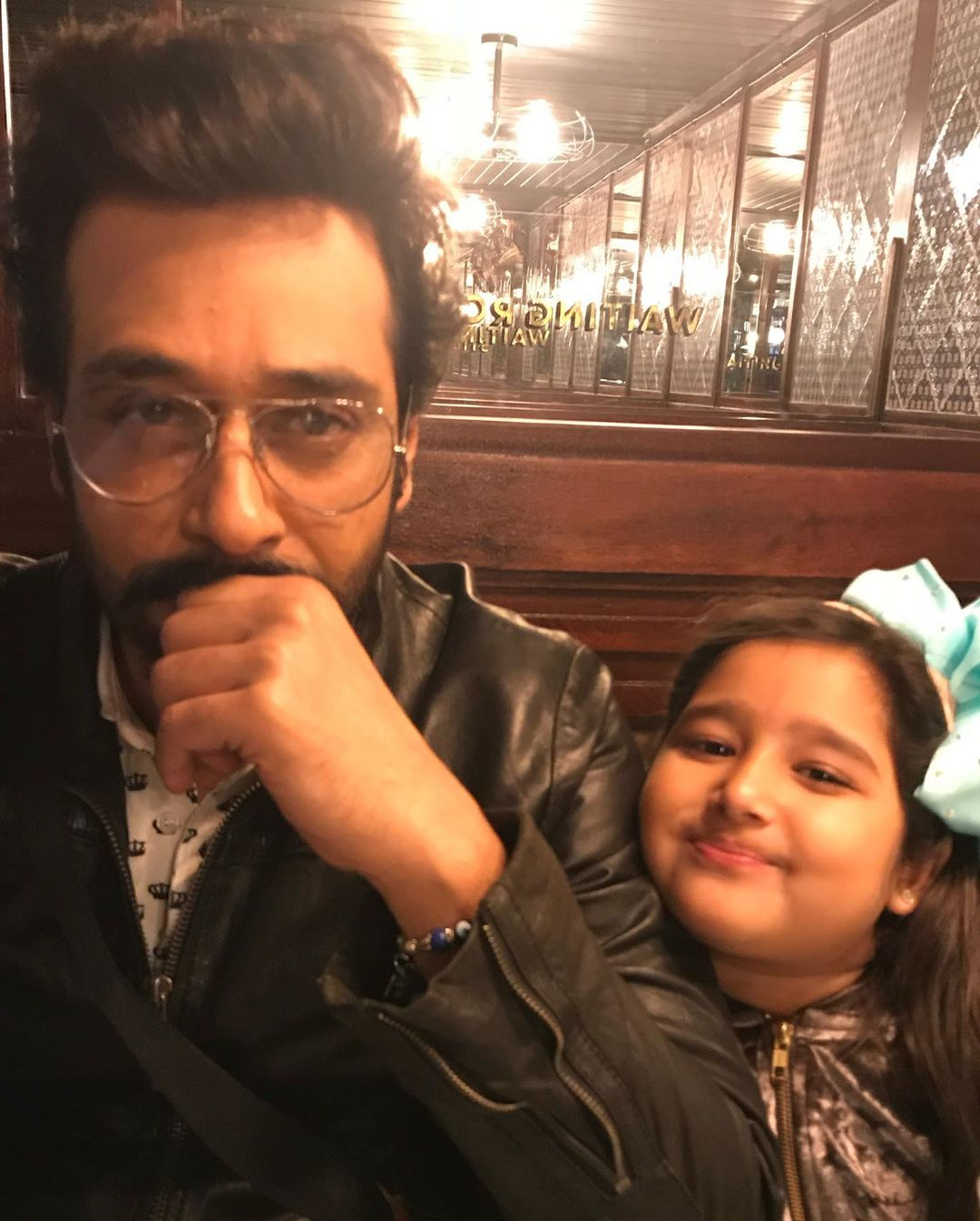 Faisal Qureshi's Wife Shares Faisal & Her Daughter Clicks on Father's Day