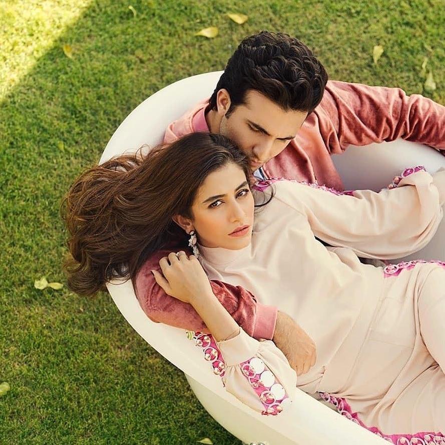 New Photoshoot of Syra and Shahroze for Ok Pakistan Magazine