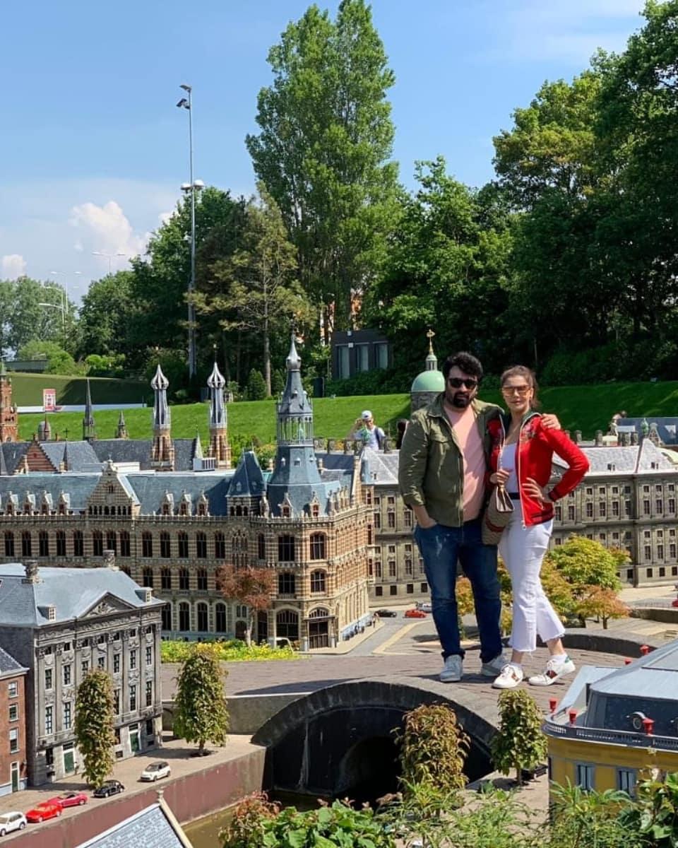 Awesome Photos of Nida Yasir and Yasir Nawaz in Amsterdam Netherlands