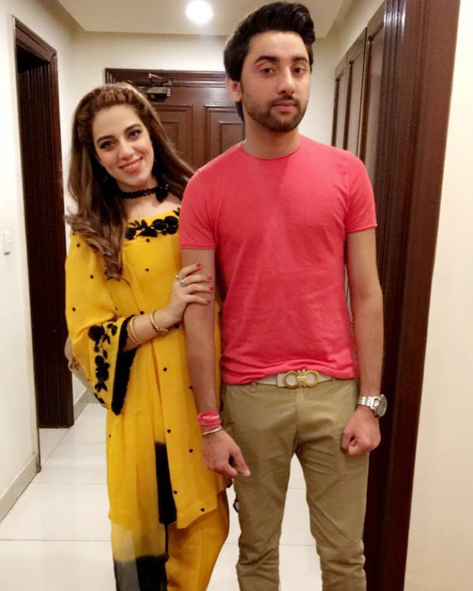 Singer Amanat Ali with his Wife Sarah and Son