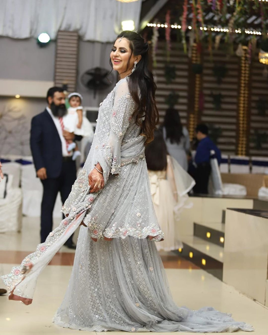 Arsalan Kanwar with Wife Fatima Effendi Beautiful Clicks From A Wedding Event