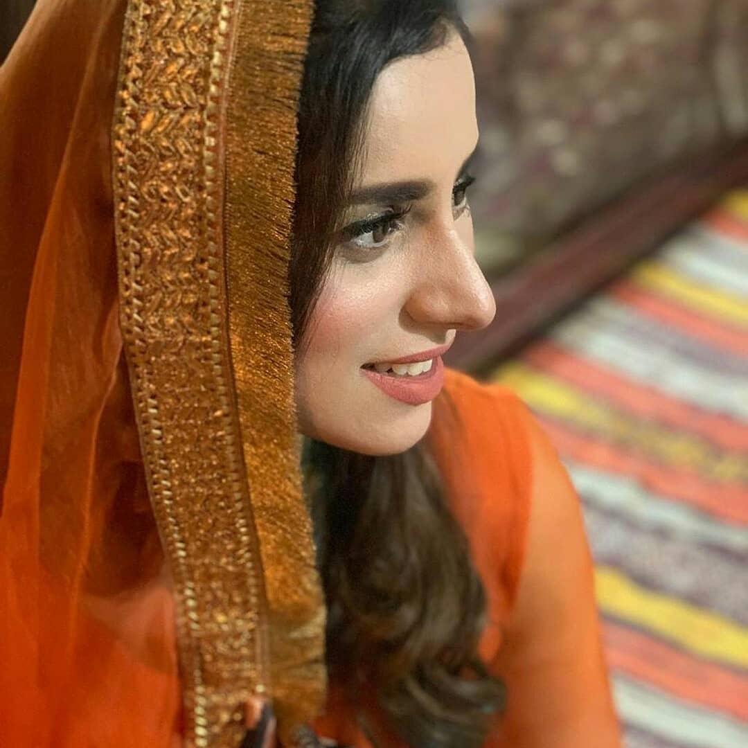 Morning Show Host Madiha Naqvi Wedding Clicks