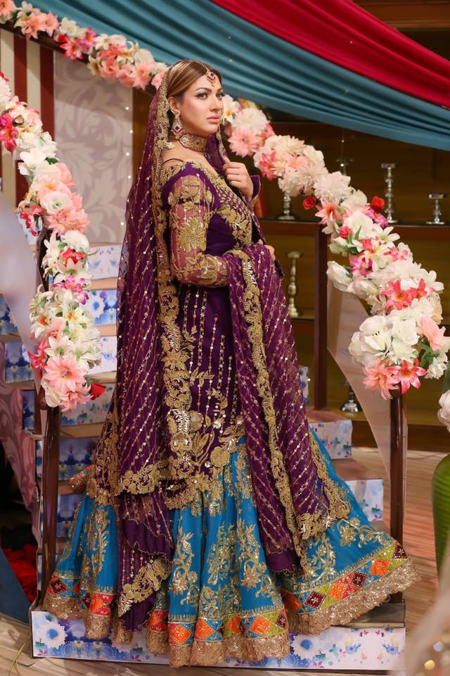 Sana Fakhar Beautiful Clicks in Bridal Photoshoot