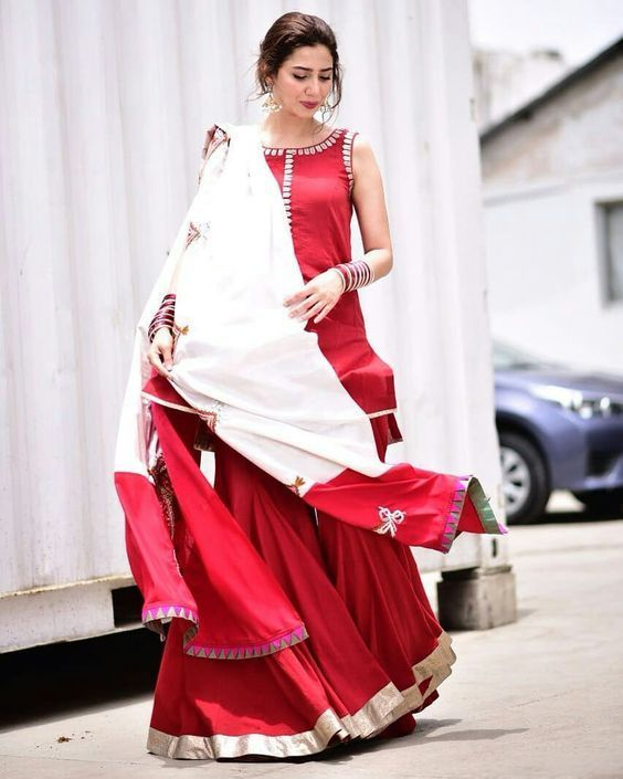Stylish New Sharara Styles For Traditional Touch