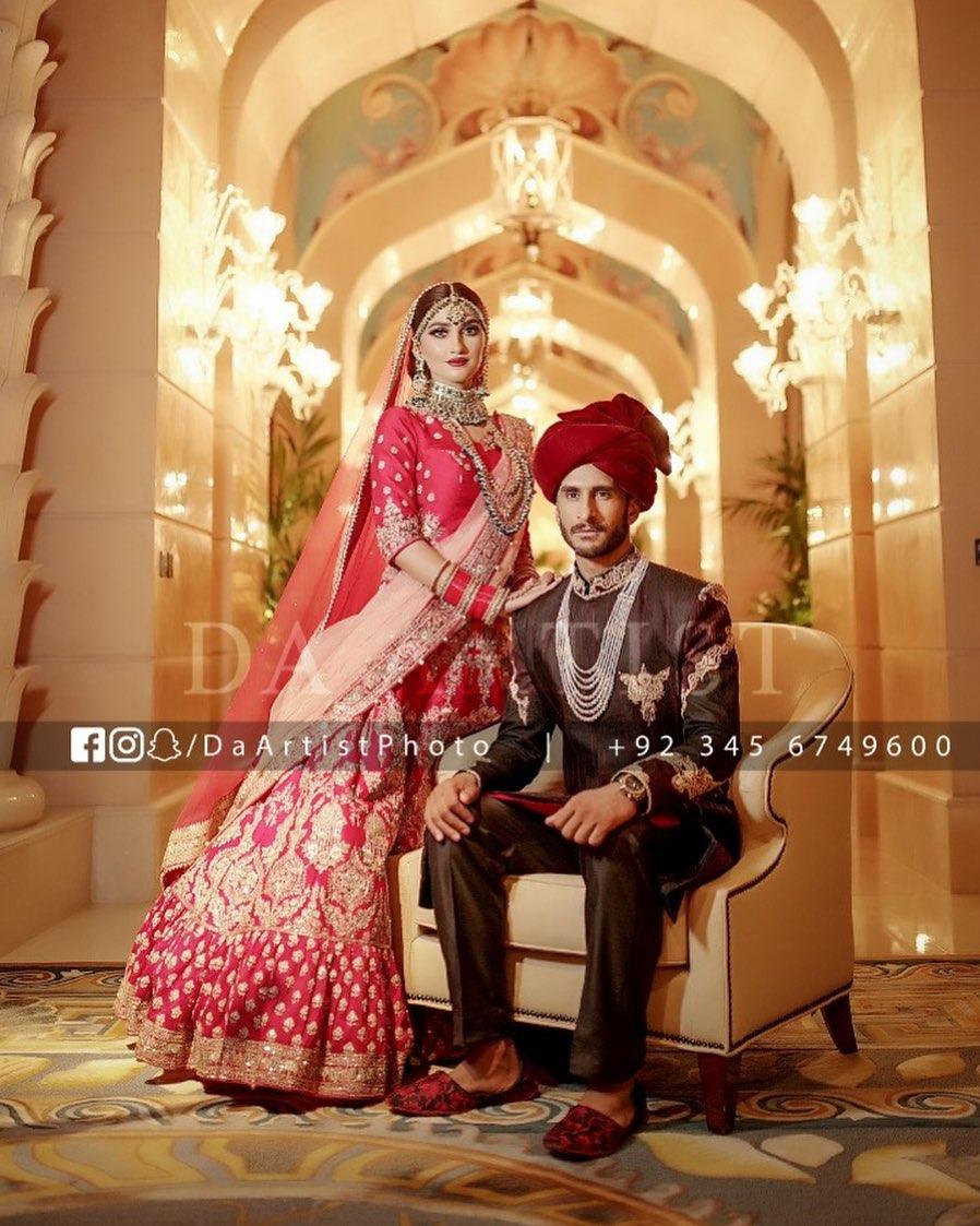Hassan Ali Wedding 1