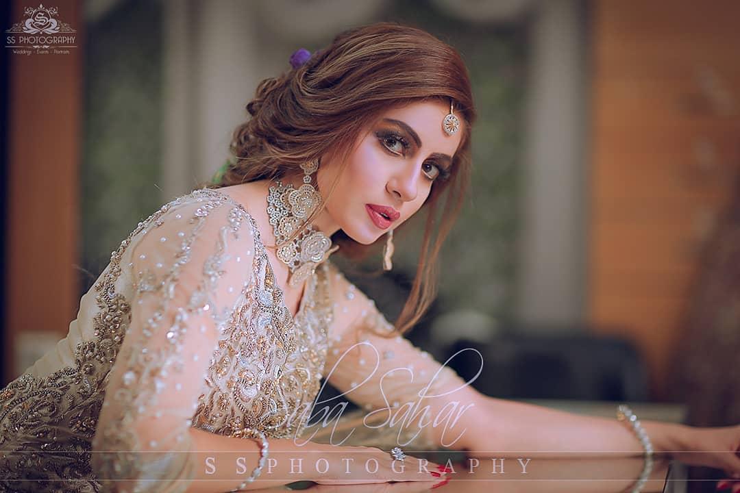 Beautiful Sadia Faisal Awesome Bridal Photoshoot