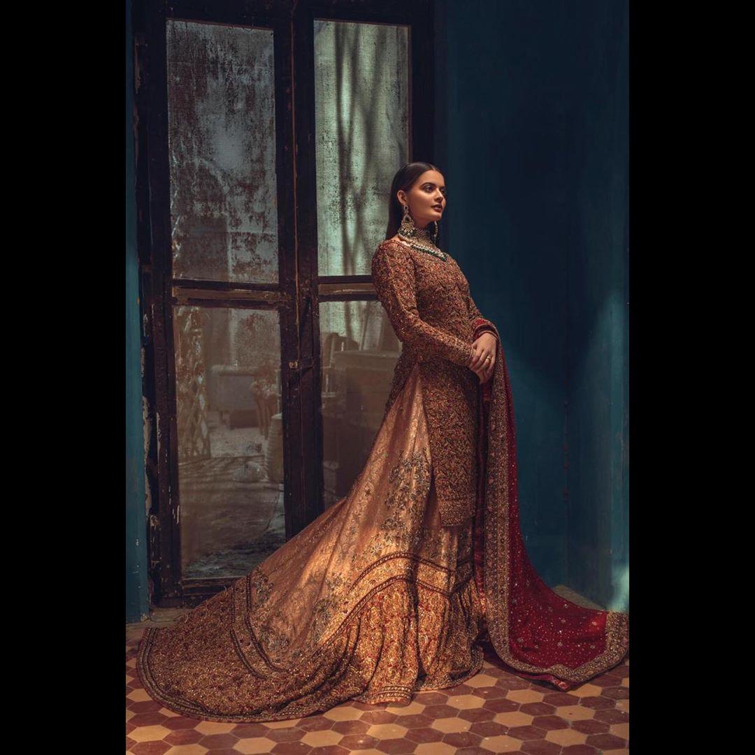 New Bridal PhotoShoot of Beautiful Minal Khan