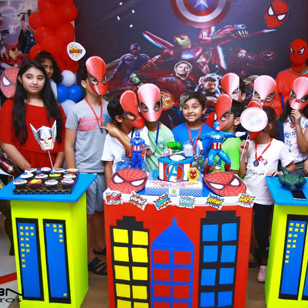 Javeria and Saud Son Ibrahim 8th Birthday Party Clicks