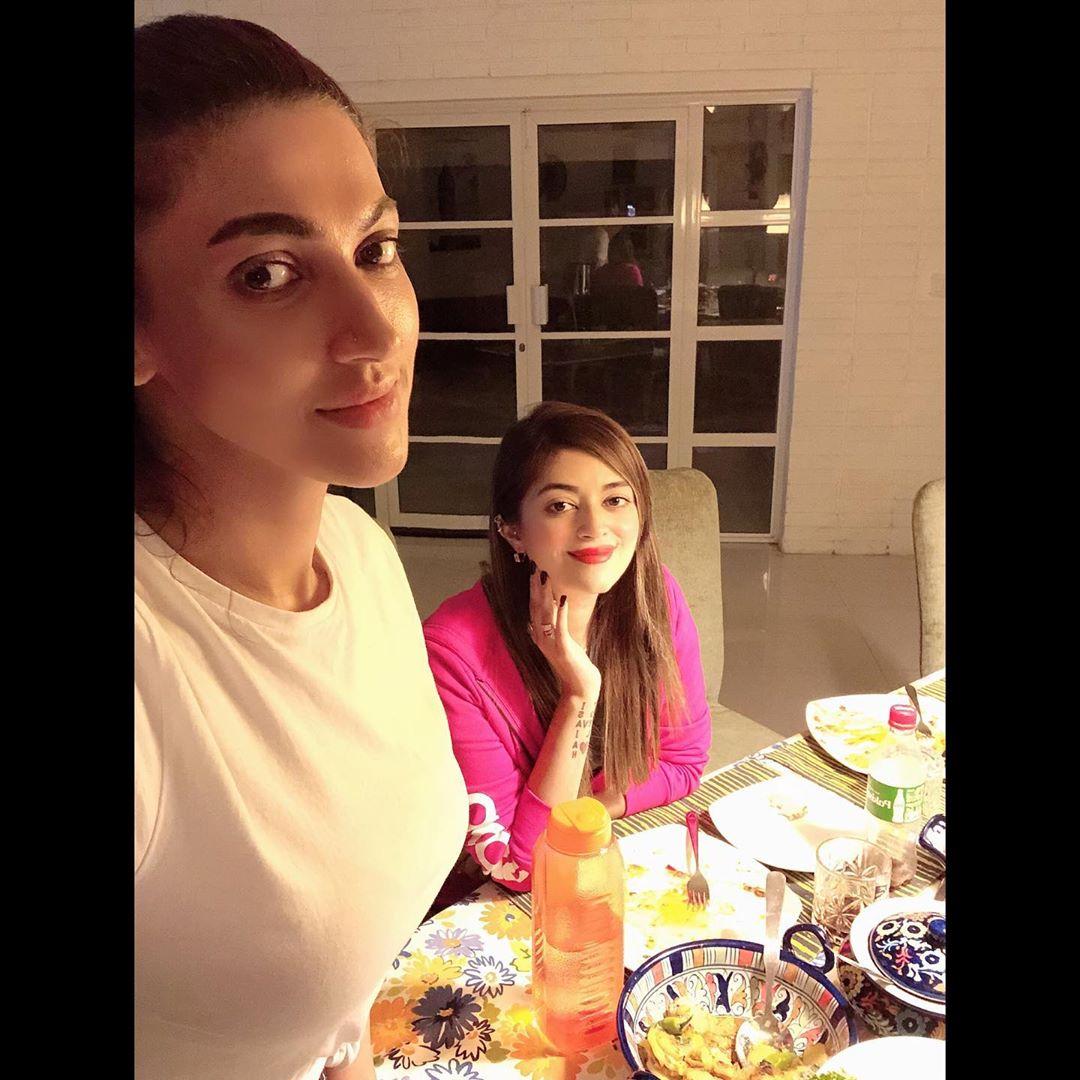 Actress Sana Fakhar Hosted Dinner for Syed Jibran & Family