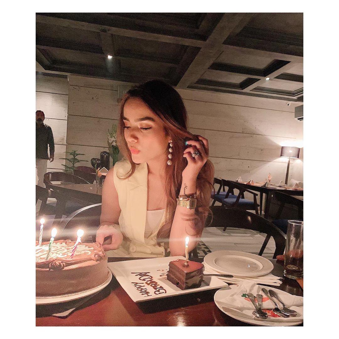 Awesome Clicks of Alyzeh Gabol Celebrating