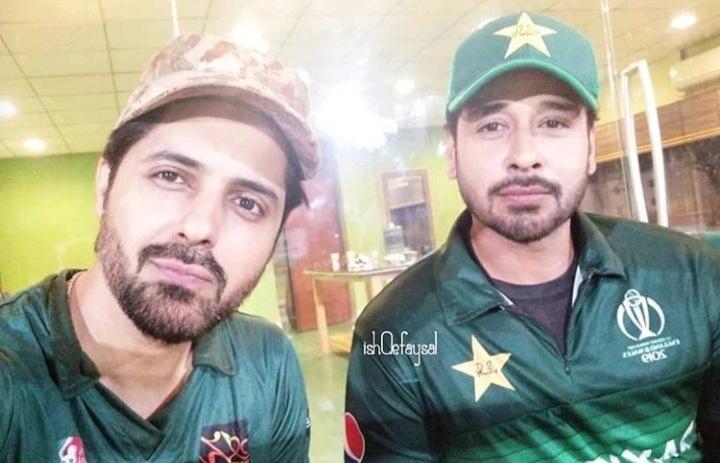 Pakistani Celebrities Playing Cricket 11