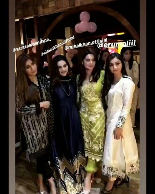 Awesome Aqiqah Clicks of Aiman Khan & Muneeb Butt Daughter Amal Muneeb
