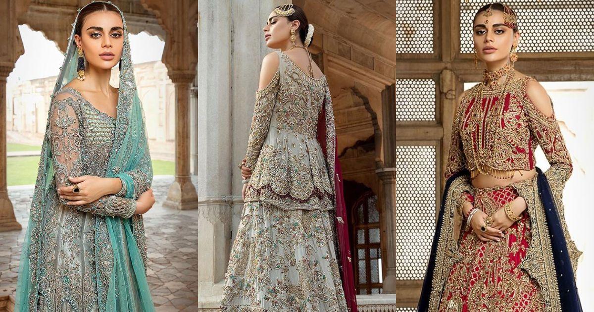 Beautiful Bridal PhotoShoot of Model Sadaf Kanwal