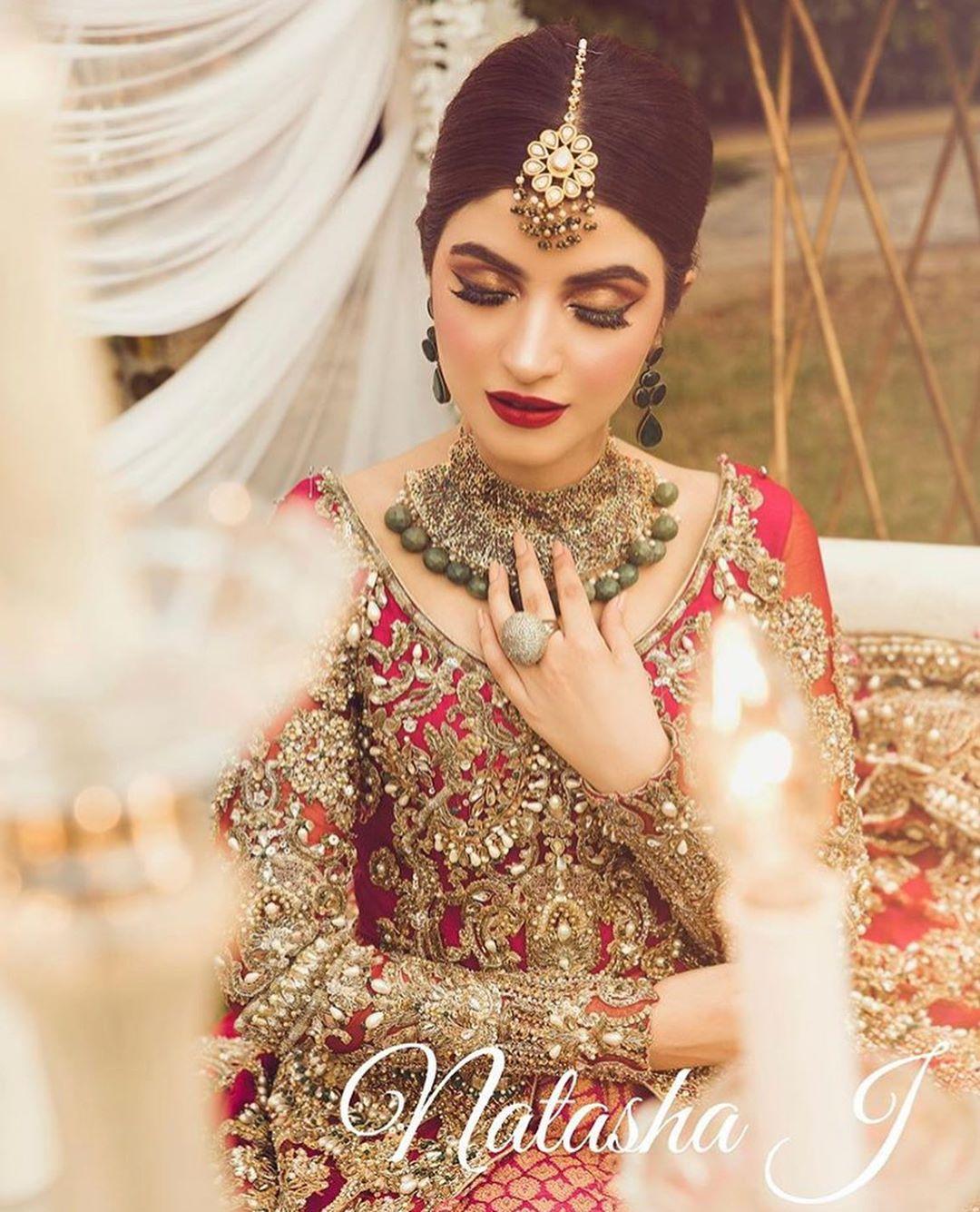 Awesome Bridal Photoshoot of Kinza Hashmi