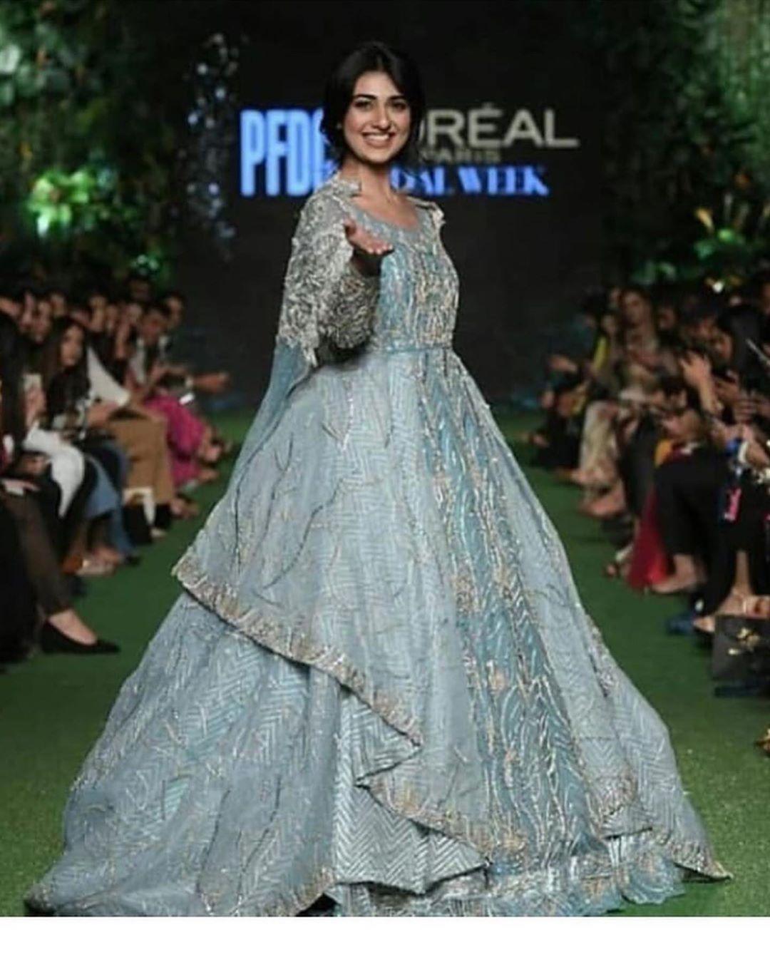 Beautiful Pakistani Celebrities at PFDC Loreal Paris Bridal Week 2019